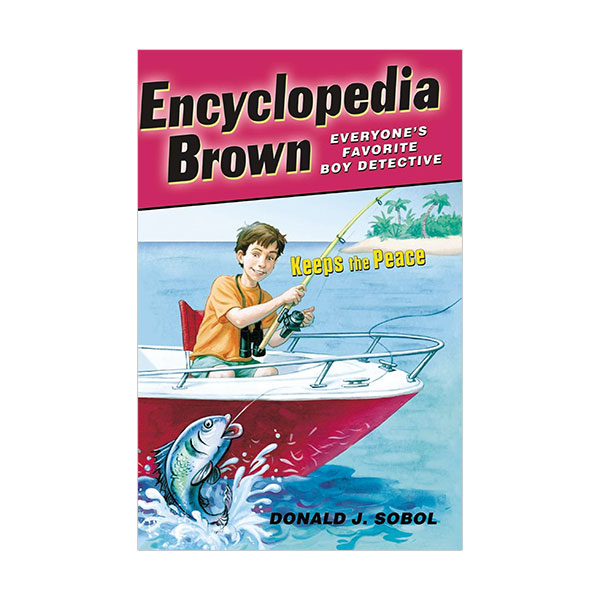 Encyclopedia Brown #06 : Encyclopedia Brown Keeps the Peace (Paperback)