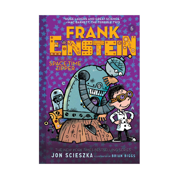 Frank Einstein #06 : Frank Einstein and the Space-Time Zipper (Paperback)