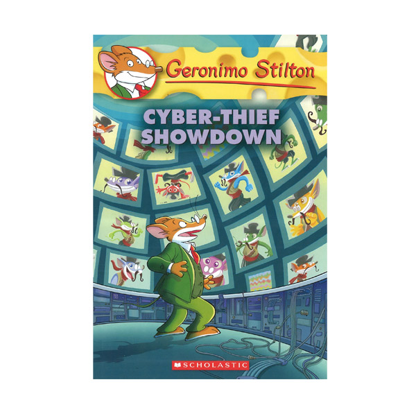 RL 4.2 : Geronimo Stilton #68 : Cyber-Thief Showdown (Paperback)