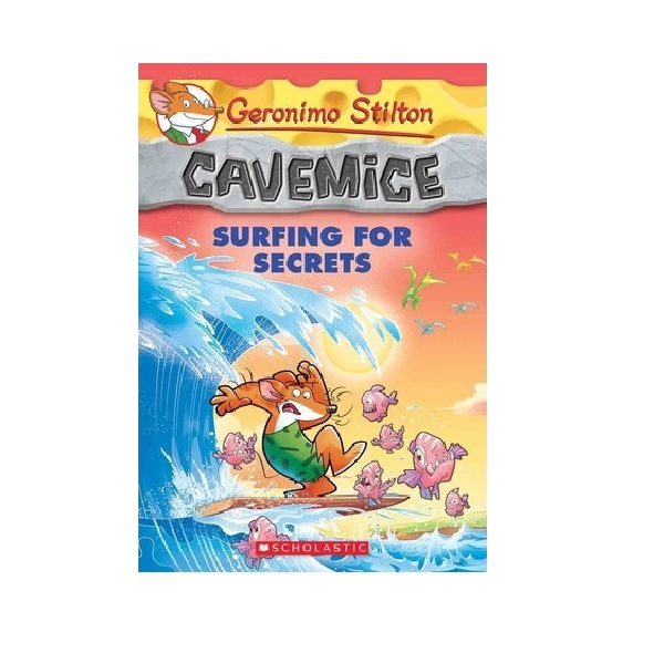 Geronimo : Cavemice #08 : Surfing for Secrets (Paperback)