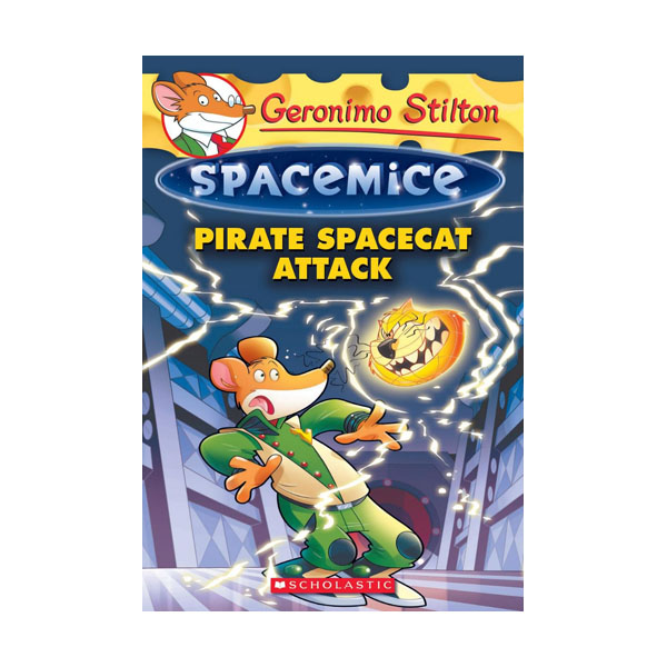RL 4.2 : Geronimo : Spacemice #10 : Pirate Spacecat Attack (Paperback)