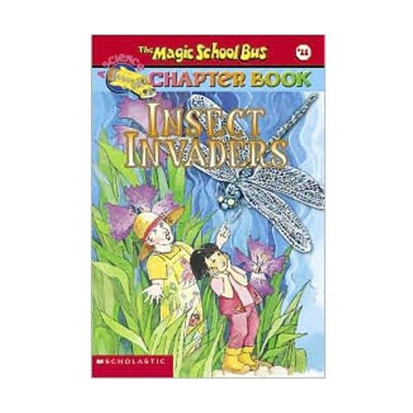 RL 4.2 : Magic School Bus Chapter Book Series #11 : Insect Invaders (Paperback)