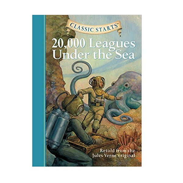 RL 4.3 : Classic Starts: 20,000 Leagues Under the Sea (Hardcover)