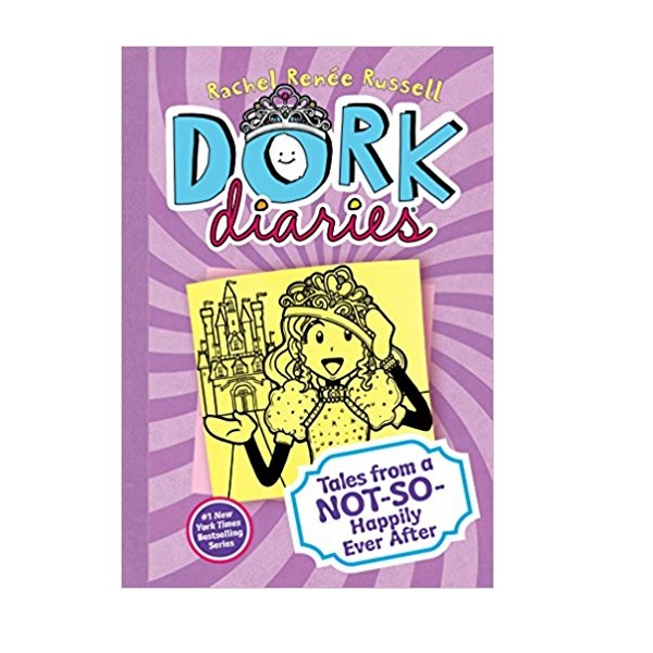 Dork Diaries #08 : Tales from a Not-So-Happily Ever After (Hardcover)