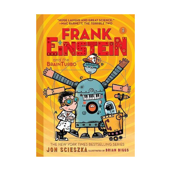 Frank Einstein #03 : Frank Einstein and the BrainTurbo (Paperback)