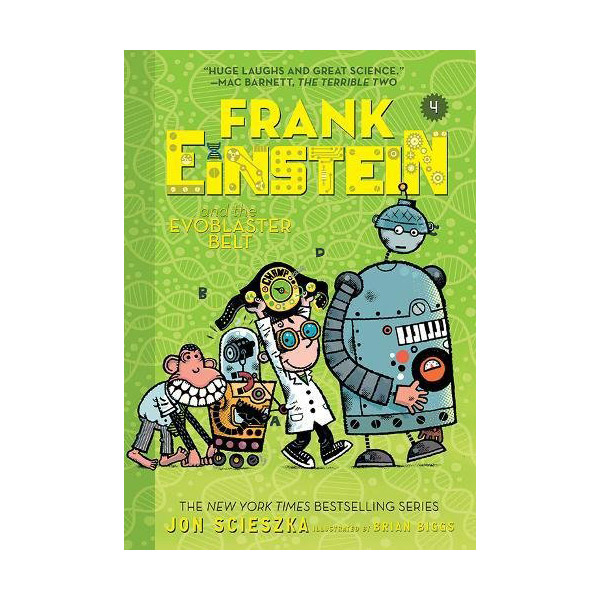 Frank Einstein #04 : Frank Einstein and the EvoBlaster Belt (Paperback)