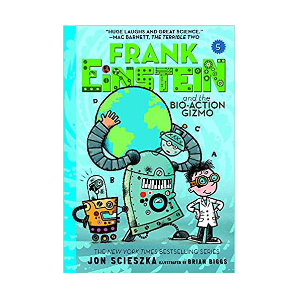 Frank Einstein #05 : Frank Einstein and the Bio-Action Gizmo (Paperback)