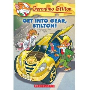RL 4.3 : Geronimo Stilton #54 : Get Into Gear, Stilton! (Paperback)
