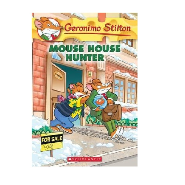 RL 4.3 : Geronimo Stilton #61 : Mouse House Hunter (Paperback)