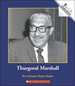 Rookie Biographies : Thurgood Marshall : 서드굿 마샬 (Paperback)