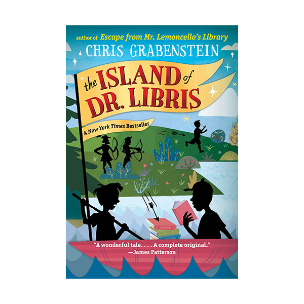 RL 4.3 : The Island of Dr Libris (Paperback)