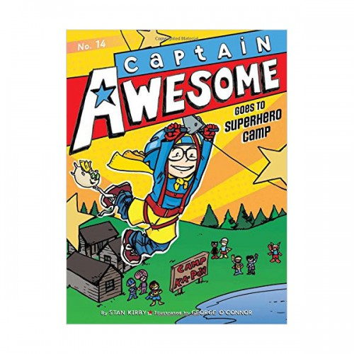 RL 4.4 : Captain Awesome Series #14 : Captain Awesome Goes to Superhero Camp (Paperback)