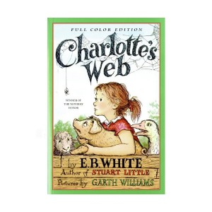 [1953 뉴베리] Charlotte's Web (Paperback, Newbery, Full Color)