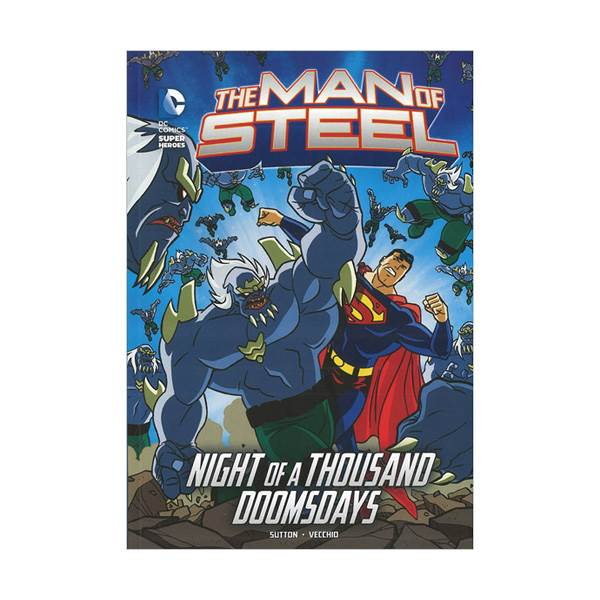 RL 4.4 : DC Super Heroes : The Man of Steel : Night of a Thousand Doomsdays (Paperback)