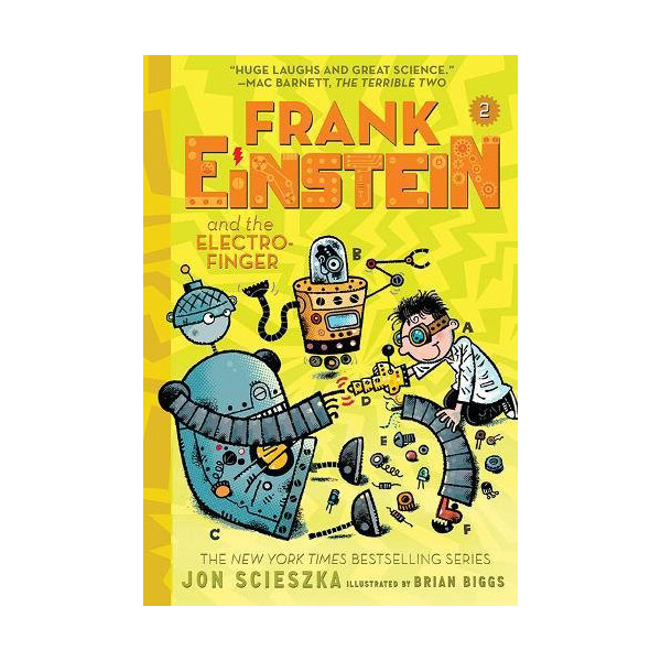Frank Einstein #02 : Frank Einstein and the Electro-Finger (Paperback)