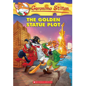 RL 4.4 : Geronimo Stilton #55 : The Golden Statue Plot (Paperback)