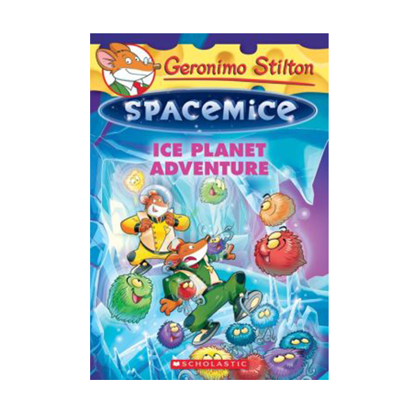 RL 4.4 : Geronimo : Spacemice #03 : Ice Planet Adventure (Paperback)