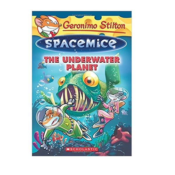 RL 4.4 : Geronimo : Spacemice #06 : The Underwater Planet (Paperback)