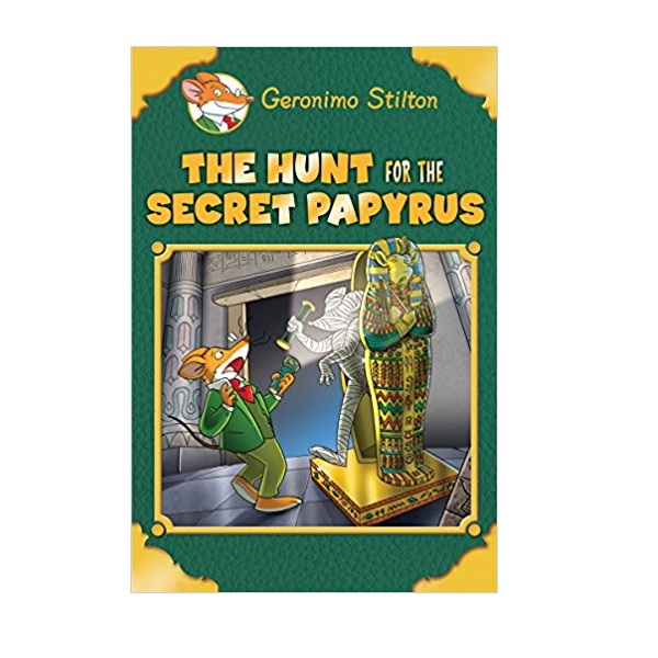 RL 4.4 : Geronimo Stilton Special Edition: The Hunt for the Secret Papyrus (Hardcover)