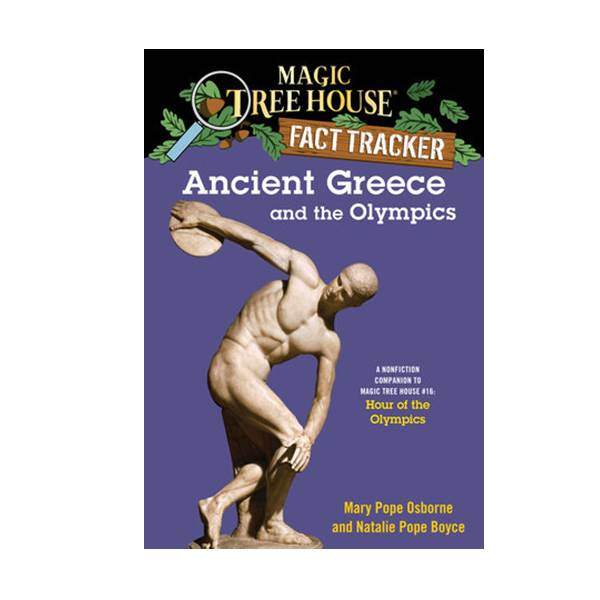 RL 4.4 : Magic Tree House fact tracker #10 : Ancient Greece and the Olympics (Paperback)