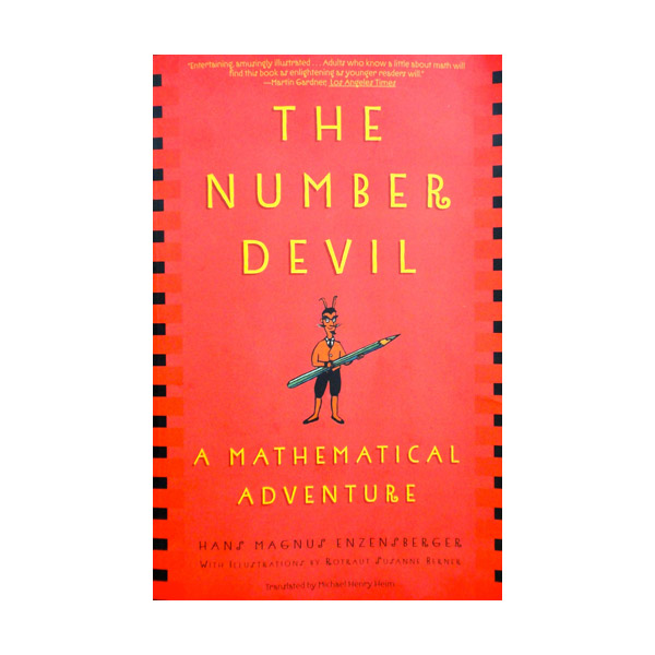 RL 4.4 : The Number Devil : A Mathematical Adventure (Paperback)