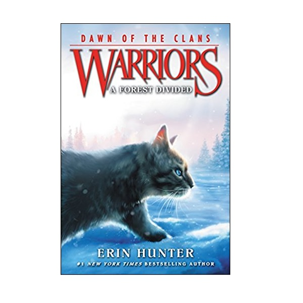 RL 4.4 : Warriors: Dawn of the Clans #5: A Forest Divided (Paperback)