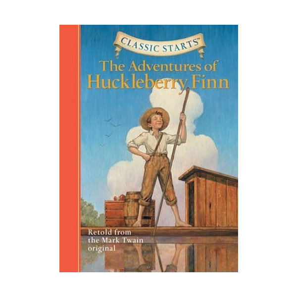 RL 4.5 : Classic Starts : The Adventures of Huckleberry Finn (Hardcover)