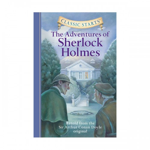RL 4.5 : Classic Starts: The Adventures of Sherlock Holmes (Hardcover)