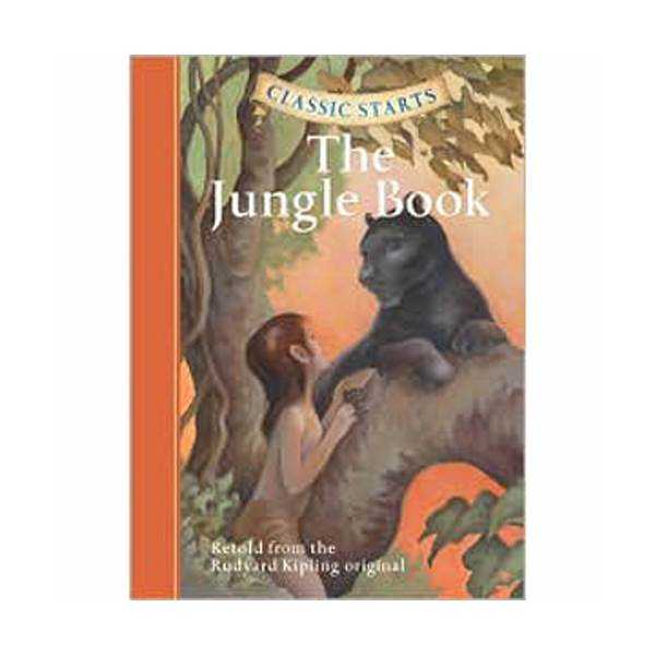 RL 4.5 : Classic Starts: The Jungle Book (Hardcover)