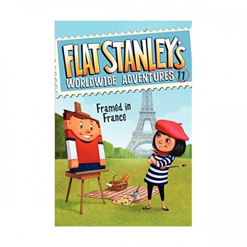 RL 4.5 : Flat Stanley's Worldwide Adventures #11 : Framed in France (Paperback)