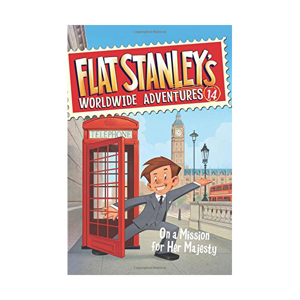 Flat Stanley's Worldwide Adventures #14 : On a Mission for Her Majesty (Paperback)