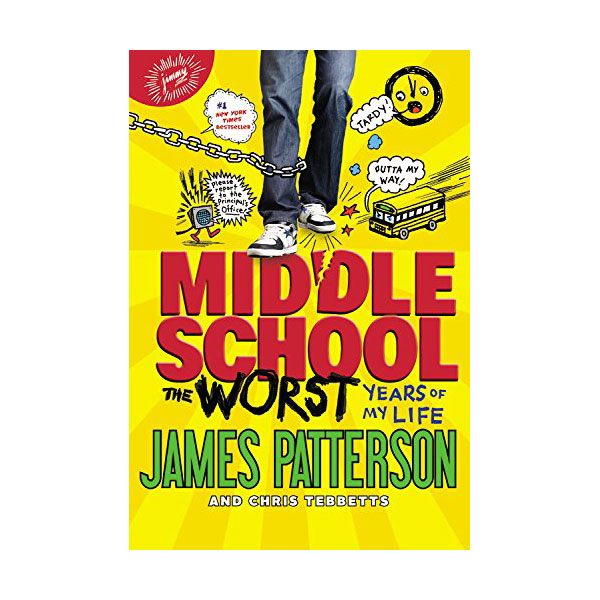 RL 4.5 : Middle School #01 : The Worst Years of My Life (Paperback)