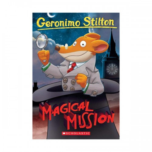 RL 4.6 : Geronimo Stilton #64 : Magical Mission (Paperback)