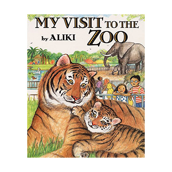 RL 4.6 : Trophy Picture Books : My Visit to the Zoo (Paperback)