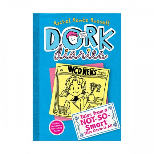Dork Diaries #05 : Tales from a Not-So-Smart Miss Know-It-All (Hardcover)