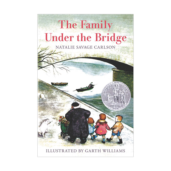 [★포스터 증정][1959 뉴베리] Family Under the Bridge (Paperback)