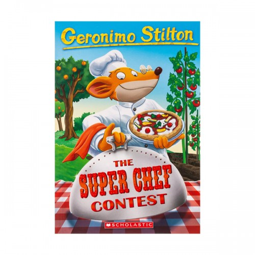 RL 4.7 : Geronimo Stilton #58 : The Super Chef Contest (Paperback)