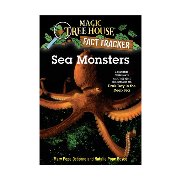 RL 4.7 : Magic Tree House Fact Tracker #17 : Sea Monsters (Paperback)