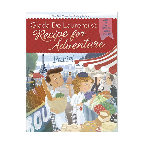 RL 4.7 : Recipe for Adventure Series #2 : Paris! (Paperback)
