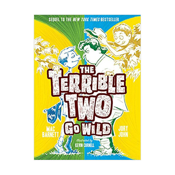 RL 4.7 : Terrible Two Go Wild (Hardcover)