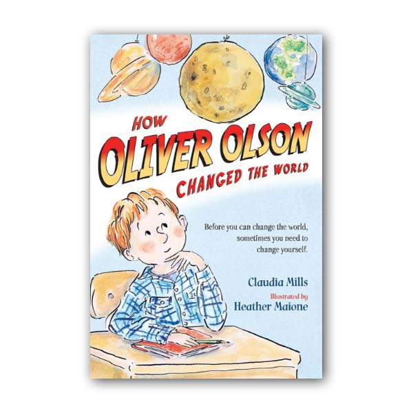 RL 4.7 올리버 올슨 : How Oliver Olson Changed the World (Paperback)
