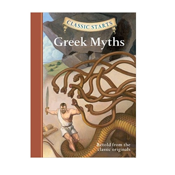 RL 4.8 : Classic Starts: Greek Myths (Hardcover)