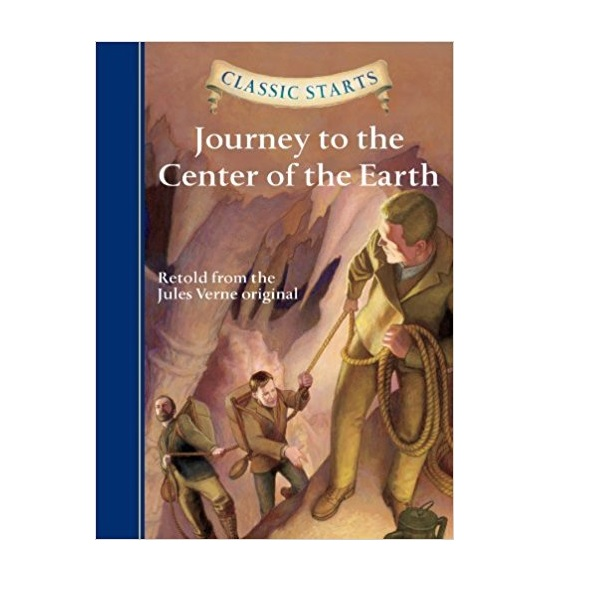 RL 4.8 : Classic Starts: Journey to the Center of the Earth (Hardcover)