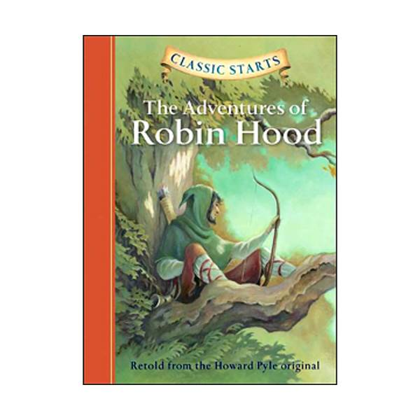 RL 4.8 : Classic Starts: The Adventures of Robin Hood (Hardcover)