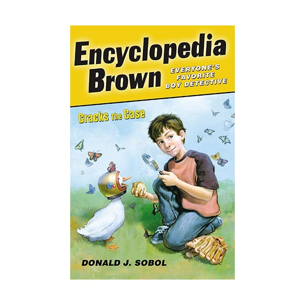 Encyclopedia Brown #14 : Cracks the Case (Paperback)