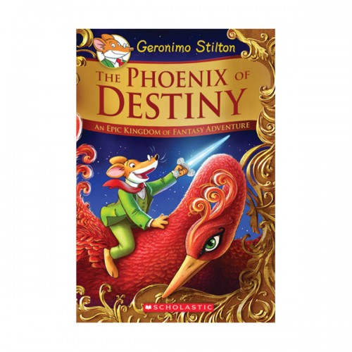 [스콜라스틱] Geronimo : Kingdom of Fantasy Special Edition #01 : The Phoenix of Destiny (Hardcover)