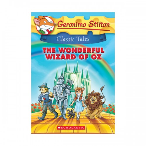 RL 4.8 : Geronimo : Classic Tales #04 : The Wonderful Wizard of Oz (Paperback)
