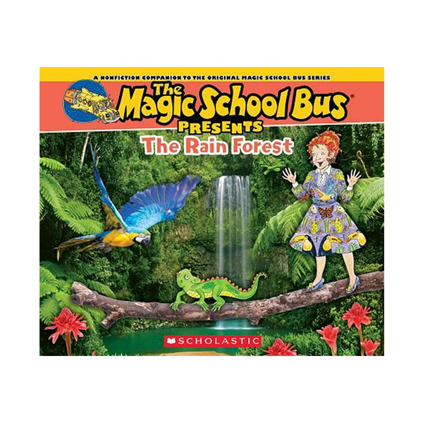 ★지구의날★ Magic School Bus Presents : The Rainforest (Paperback)