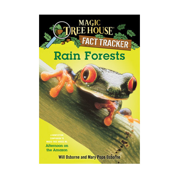 RL 4.8 : Magic Tree House Fact Tracker #05 : Rain Forests (Paperback)