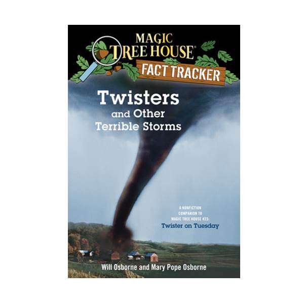 RL 4.8 : Magic Tree House Fact Tracker #08 : Twisters and Other Terrible Storms (Paperback)